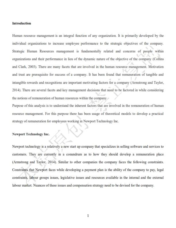 澳洲管理学论文代写样本全文- Page 3 of 8