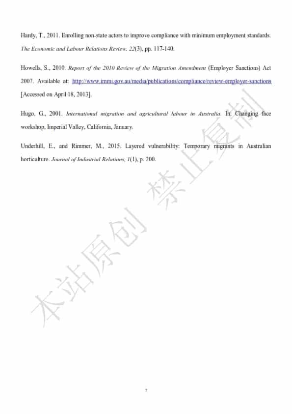澳洲人力资源管理论文代写样本全文- Page 9 of 9