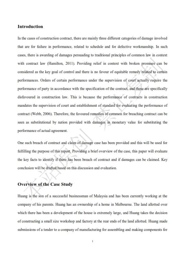 澳洲法律论文代写样本全文- Page 3 of 9