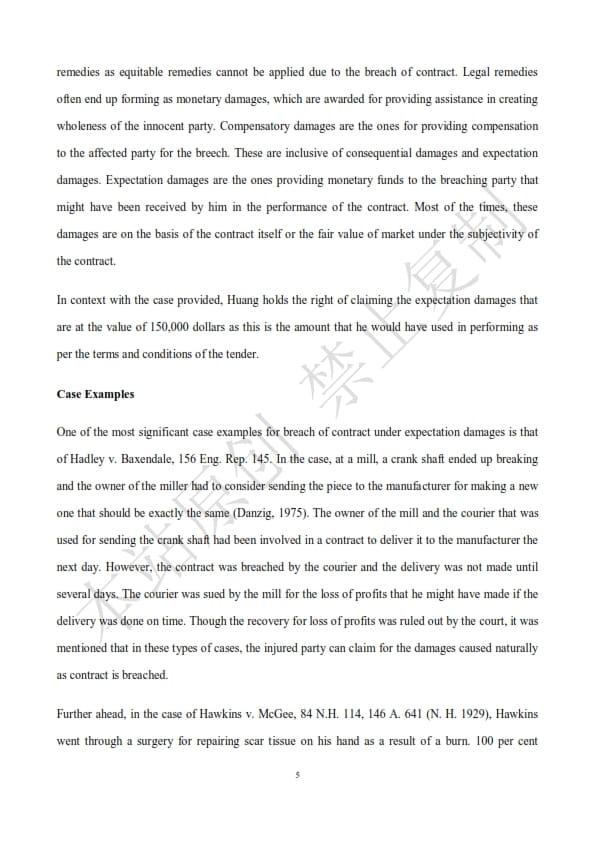 澳洲法律论文代写样本全文- Page 7 of 9
